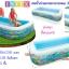 สระน้ำเป่าลมทรงยาว 3 ชั้น ลายทะเล [Intex-58485] thumbnail 2