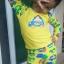 ชุดว่ายน้ำเด็ก สีเหลือง แขนยาวใส่ได้ทั้งเด็กผู้หญิงละผู้ชาย thumbnail 1