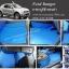 ยางปูพื้นรถยนต์ Ford Ranger 4 D 2012 ลายธนู สีฟ้าขอบดำ 4 ประตู