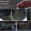 ยางปูพื้นรถยนต์ Honda CRV ลายกระดุมสีดำ