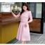 set เสื้อและกระโปรงสีชมพู thumbnail 8