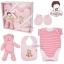 ชุดของขวัญเสื้อผ้าพร้อมตุ๊กตา 4 ชิ้น TomTom joyful (เด็กอายุ 0-6 เดือน) thumbnail 7