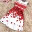 set เสื้อและกระโปรงพิมพ์ลายดอกกุหลาบสีแดง สวยมากๆๆค่ะ thumbnail 14