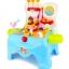 ชุดเก้าอี้ไอศกรีมพกพา Super Market Play Set 39 ชิ้น thumbnail 13