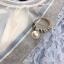 เดรสผ้าลูกไม้เนื้อดีสีฟ้า หน้าอกเสื้อแต่งด้วยผ้าโปร่งซีทรูสีครีมรูปตัววี คาดแถบผ้ายืดเนื้อเงาวิ้ง thumbnail 17