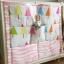 ผ้าแขวนผนังหรือติดขอบเตียงใส่ของเล่น Muslin tree thumbnail 7
