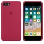 เคสซิลิโคน iPhone 7 / 8 สีแดงกุหลาบ ( Original ) thumbnail 4