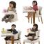 เก้าอี้ทานข้าว 2 ระดับ Richell 2-Position Baby Chair thumbnail 9