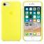 เคสซิลิโคน iPhone 7 / 8 สีเหลืองนีออน ( Original ) thumbnail 3