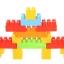 บล็อคตัวต่อ Block Play&Learn รุ่นถุงใหญ่ 320 ชิ้น thumbnail 14