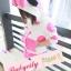 BabyCity ชุดเสื้อมีฮูทพร้อมกางเกงกระโปรงสไตล์มินนี่ thumbnail 7