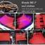 พรมปูพื้นรถยนต์ Honda BR-V ไวนิลสีแดง
