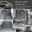 ยางปูพื้นรถยนต์ Nissan X-Trail ลายกระดุมสีดำ