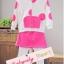 BabyCity ชุดเสื้อมีฮูทพร้อมกางเกงกระโปรงสไตล์มินนี่ thumbnail 15