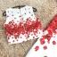 set เสื้อและกระโปรงพิมพ์ลายดอกกุหลาบสีแดง สวยมากๆๆค่ะ thumbnail 10