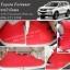 พรมรถยนต์ Toyota Fortuner ไวนิลแดง