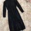 เดรสผ้าลูกไม้เนื้อนิ่ม แขนยาว เอวจั๊ม มาพร้อมกับเสื้อแขนกุดตัวนอก ผ้าสักหลาดสีดำ เอวจั๊ม มีเข็มขัดค่ะ thumbnail 10