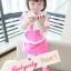 BabyCity ชุดเสื้อมีฮูทพร้อมกางเกงกระโปรงสไตล์มินนี่ thumbnail 10