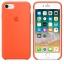 เคสซิลิโคน iPhone 7 / 8 สีส้มสไปซี่( Original ) thumbnail 3