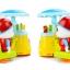 รถเข็นไอศกรีมห่านน้อย Huile Colorful Ice-Cream Cart thumbnail 12