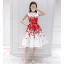 set เสื้อและกระโปรงพิมพ์ลายดอกกุหลาบสีแดง สวยมากๆๆค่ะ thumbnail 6
