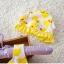 ชุดว่ายน้ำเด็กผู้หญิง ลายเป็ด สีเหลืองขาว พร้อมหมวก thumbnail 4