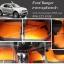 ยางปูพื้นรถยนต์ Ford Ranger 4 D 2012 กระดุม สีส้ม ขอบฟ้า