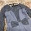 เดรสผ้าสักหลาดเนื้อนุ่มมากๆๆสีเทา เย็บต่อกับผ้าถักโครเชต์สีเทา แต่งรูปโบว์ที่เอว thumbnail 11
