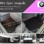 ผ้ายางปูพื้นรถยนต์ BMW E46 กระดุมเล็กสีดำ