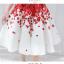 set เสื้อและกระโปรงพิมพ์ลายดอกกุหลาบสีแดง สวยมากๆๆค่ะ thumbnail 15