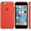เคสซิลิโคน iPhone 6 / 6s - สีส้ม ( Original ) thumbnail 3