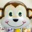 ลูกโป่งฟอร์ยรูปหน้าลิง ขนาด 70x80 cm. thumbnail 1