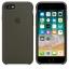 เคสซิลิโคน iPhone 7 8 Plus สีเขียวมะกอกเข้ม ( Original ) thumbnail 4