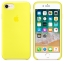 เคสซิลิโคน iPhone 7 / 8 สีเหลืองนีออน ( Original ) thumbnail 2