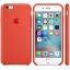 เคสซิลิโคน iPhone 6 / 6s - สีส้ม ( Original ) thumbnail 2