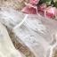 เดรสสไตล์เจ้าหญิง ผ้าลูกไม้ปักลายสีขาว งานปักละเอียดสวยมากค่ะ แขนยาวสี่ส่วน แขนเสื้อทรงกระดิ่ง thumbnail 15