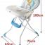 Fin babiesplus เก้าอี้ทานข้าวเด็ก baby high chair 2in1 thumbnail 8