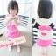 BabyCity ชุดเสื้อมีฮูทพร้อมกางเกงกระโปรงสไตล์มินนี่ thumbnail 1