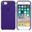 เคสซิลิโคน iPhone 7 8 Plus สีม่วงไวโอเล็ตเข้ม ( Original ) thumbnail 3