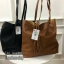 BERSKA soft faux leather tote bag thumbnail 1