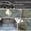 ยางปูพื้นรถยนต์ Chevrolet Trailblazer ลายกระดุมสีเทา
