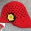 หมวกไหมพรมดอกไม้ สไตล์ยุโรป thumbnail 5