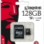 128 GB MICRO SD CARD KINGSTON CLASS 10 thumbnail 1