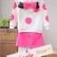 BabyCity ชุดเสื้อมีฮูทพร้อมกางเกงกระโปรงสไตล์มินนี่ thumbnail 24