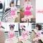 BabyCity ชุดเสื้อมีฮูทพร้อมกางเกงกระโปรงสไตล์มินนี่ thumbnail 2