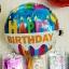ลูกโป่งฟอร์ยวงกลม Happy birthday ขนาด 18.5 นิ้ว thumbnail 1