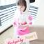 BabyCity ชุดเสื้อมีฮูทพร้อมกางเกงกระโปรงสไตล์มินนี่ thumbnail 8