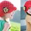 หมวกไหมพรมดอกไม้ สไตล์ยุโรป thumbnail 4