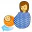 ผ้าคลุมให้นม PAPA Breastfeeding Cover For Nursing Mommy thumbnail 10