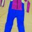 ชุดว่ายน้ำเด็กบอดี้สูท แบบแขนยาว ขายาว ท่อนบนสีชมพูแถบเหลือง ท่อนล่างสีฟ้า มีซิบหน้า น่ารักสดใส thumbnail 2